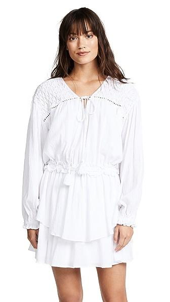 Steele Sierra Dress In Blanc