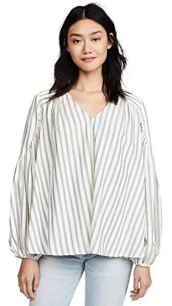 Steele Estate Blouse In Stripe