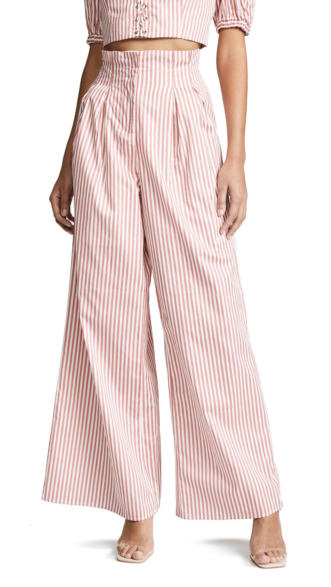 STEELE Marmont Pants in Cinnamon Stripe