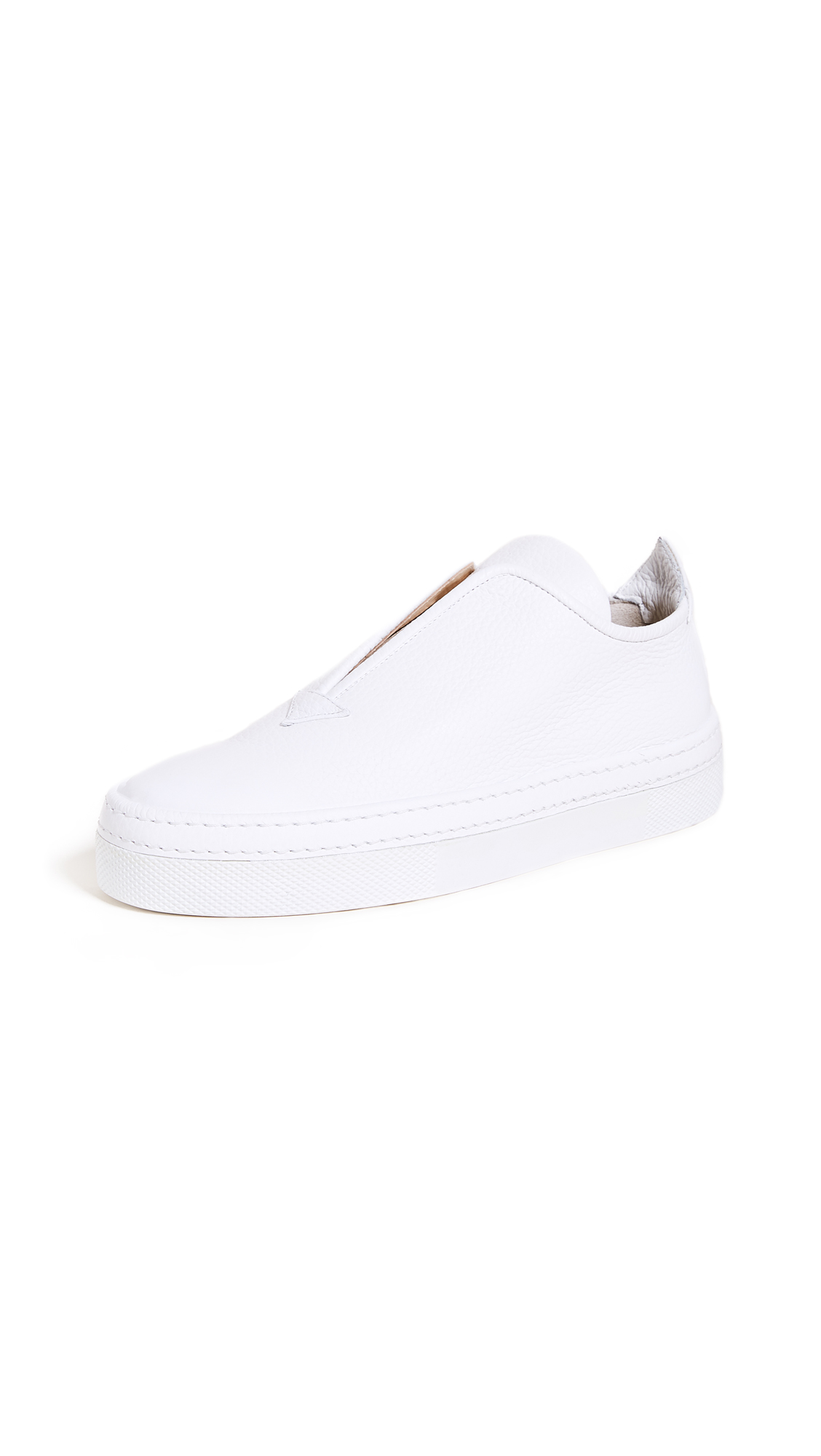 Steiger Slip On Sneakers - Bianco