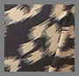 Black/Flesh Leopard Print