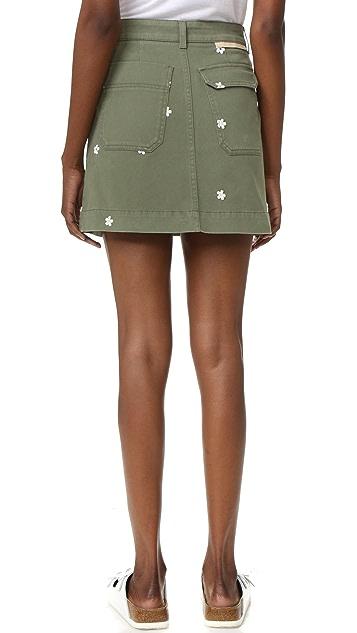 Stella McCartney Flower Skirt