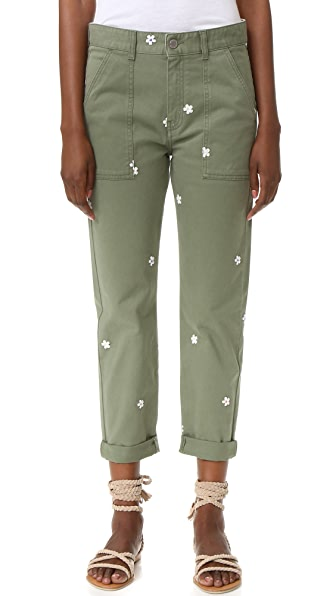 Stella McCartney Skinny Ankle Grazer Pants