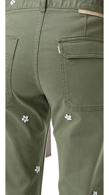 Stella McCartney Skinny Ankle Grazer Pants