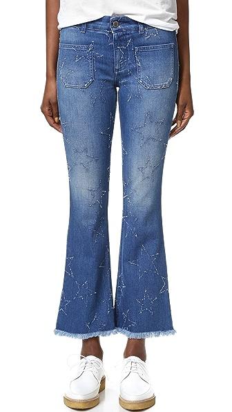 Stella McCartney Skinny Kick Jeans In Deep Blue