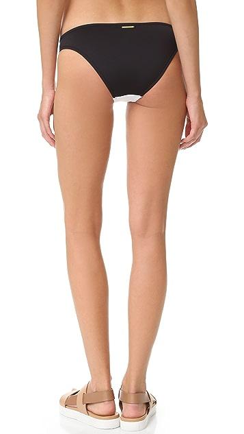 Stella McCartney Stella Iconic Colorblock Bikini Bottoms