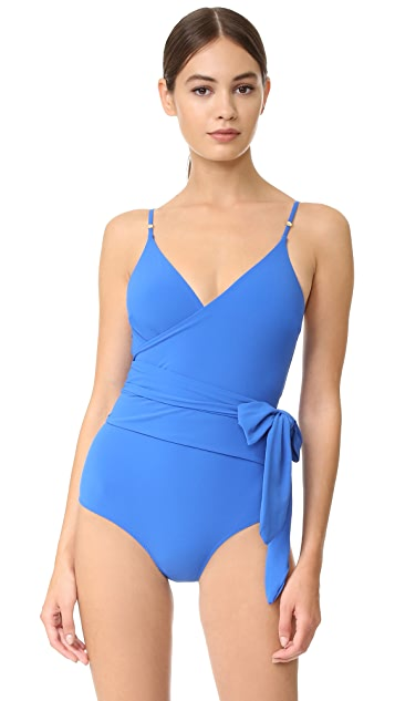 Stella McCartney Timeless Basics Wrap Swimsuit