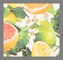 Yellow Citrus Print