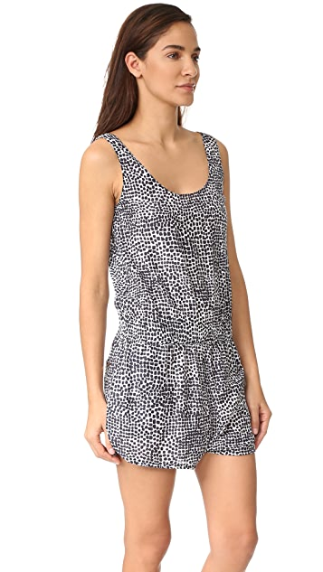 Stella McCartney Mixed Animals All in One Romper