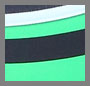 Calypso Green/Navy Stripe