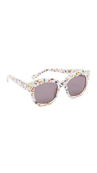 Stella McCartney Солнцезащитные очки в квадратной оправе