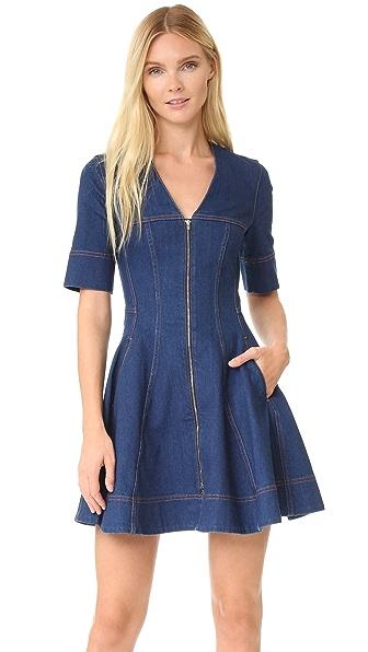 Stella McCartney Zip Denim Dress