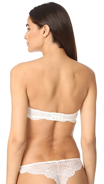 Stella McCartney Stella Smooth & Lace Strapless Bra