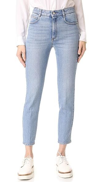 Stella McCartney Denim Trousers - Mid Blue