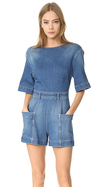 Stella McCartney Denim Romper