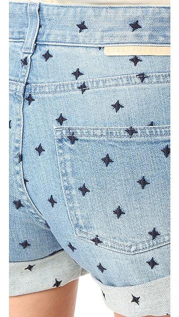 Stella McCartney Denim Tomboy Shorts