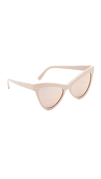 Stella McCartney Солнцезащитные очки Extreme «кошачий глаз»