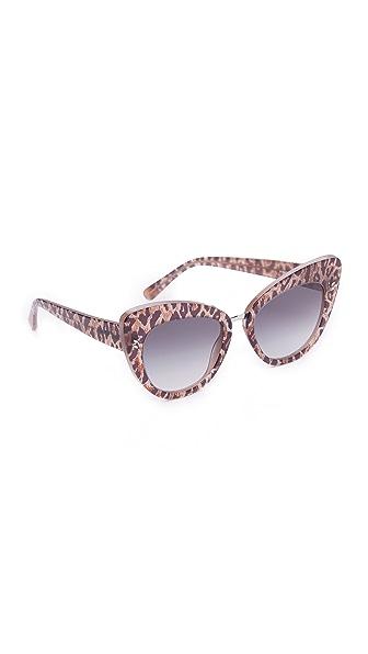 Stella McCartney Солнцезащитные очки «кошачий глаз»