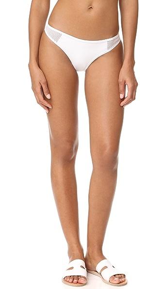 Stella McCartney Classic Bikini Bottoms - White