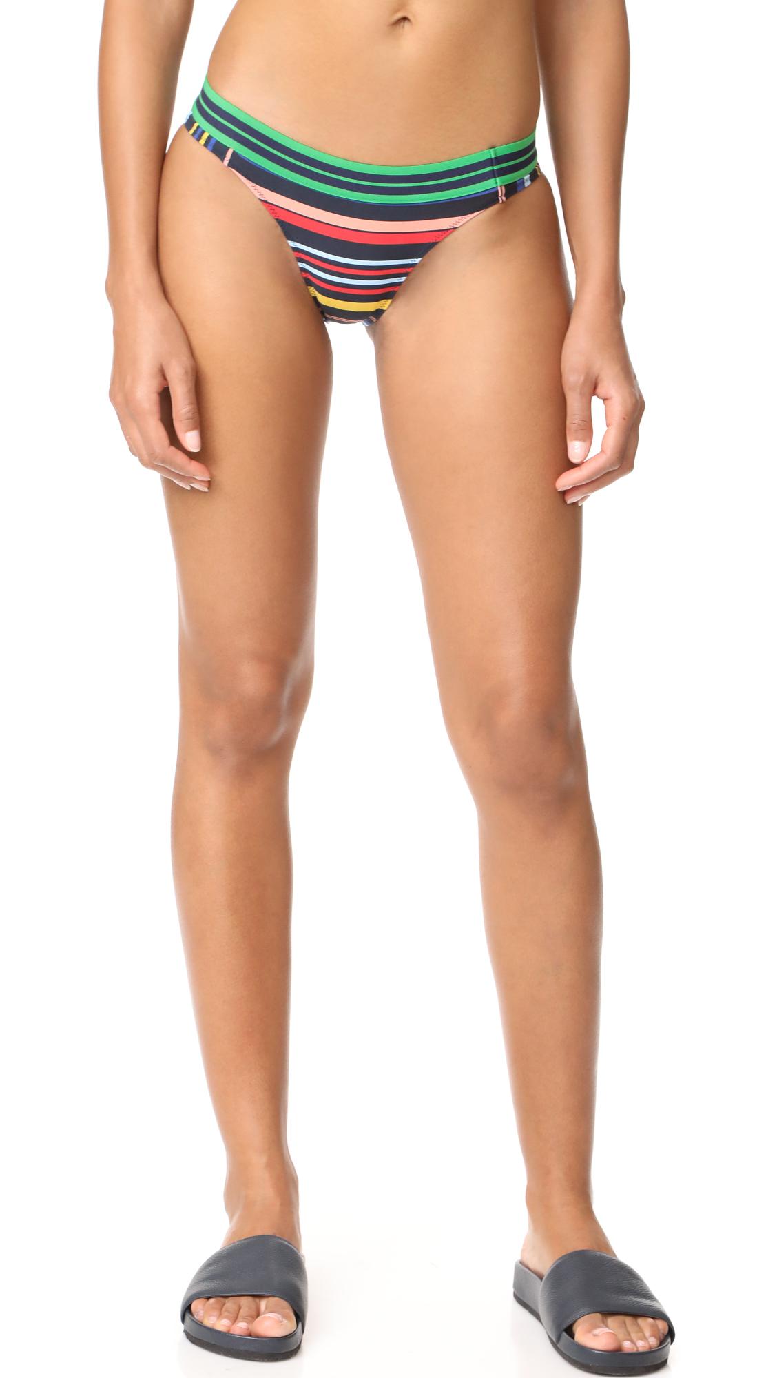 Stella McCartney Stripe Classic Bikini Bottoms