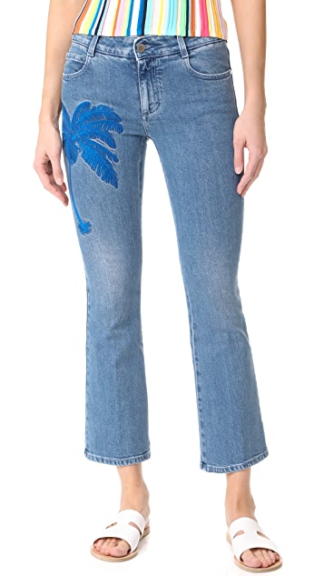 Stella McCartney Skinny Kick Crop Jeans