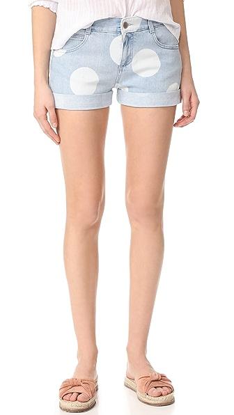Stella McCartney Dot Print Shorts