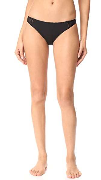Stella McCartney Stella Soft Mesh Bikini Briefs - Black