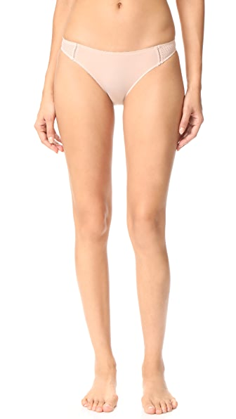 Stella McCartney Stella Soft Mesh Bikini Briefs - Frappe