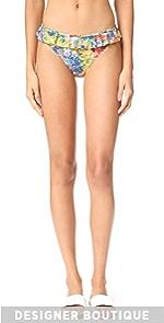 Iconic Prints Classic Bikini Bottoms Stella McCartney