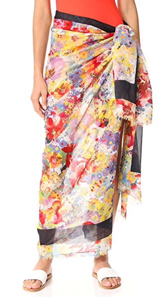 Stella McCartney Iconic Prints Sarong - Floral Print