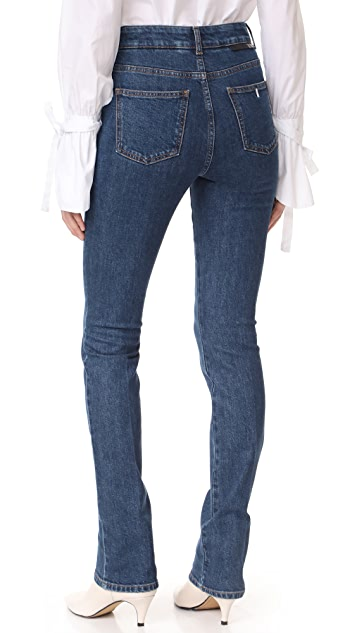 Stella McCartney High Waisted Straight Jeans