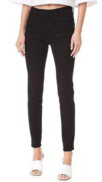 Stella McCartney High Waist Skinny Jeans - Black