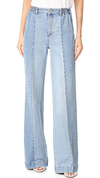 Stella McCartney Denim Trousers - Mid Blue