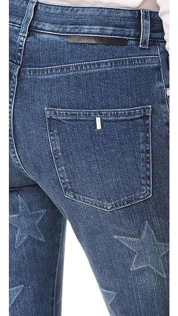 Stella McCartney Faded Star Boyfriend Jeans