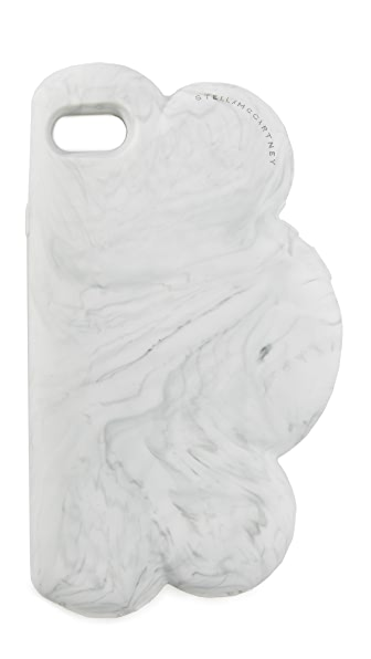 Stella McCartney Cloud iPhone 7 Case - Marbled White