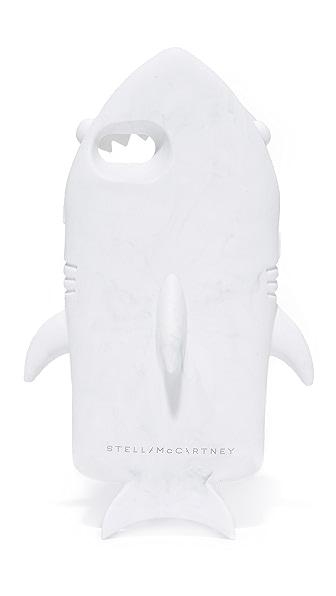 Stella McCartney iPhone 7 Shark Case - Marbled White