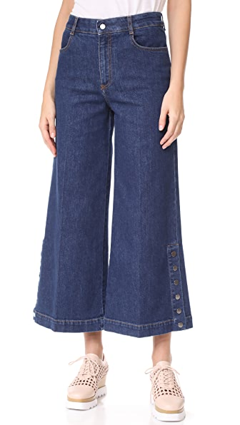 Stella McCartney Wide Leg Culottes
