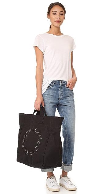 Stella McCartney Circle Logo Beach Bag