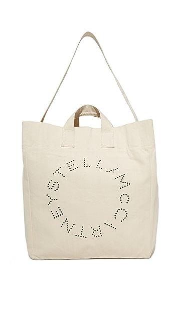 Stella McCartney Beach Bag Circle Logo