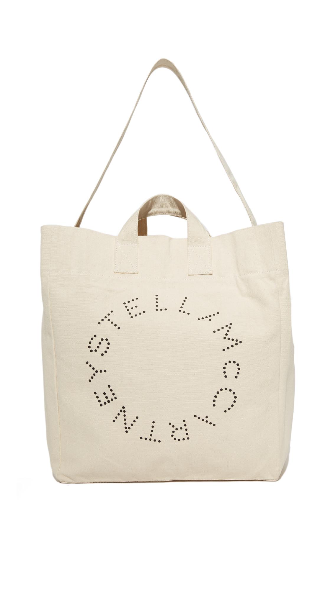 Stella McCartney Beach Bag Circle Logo  f6548cb808dd5