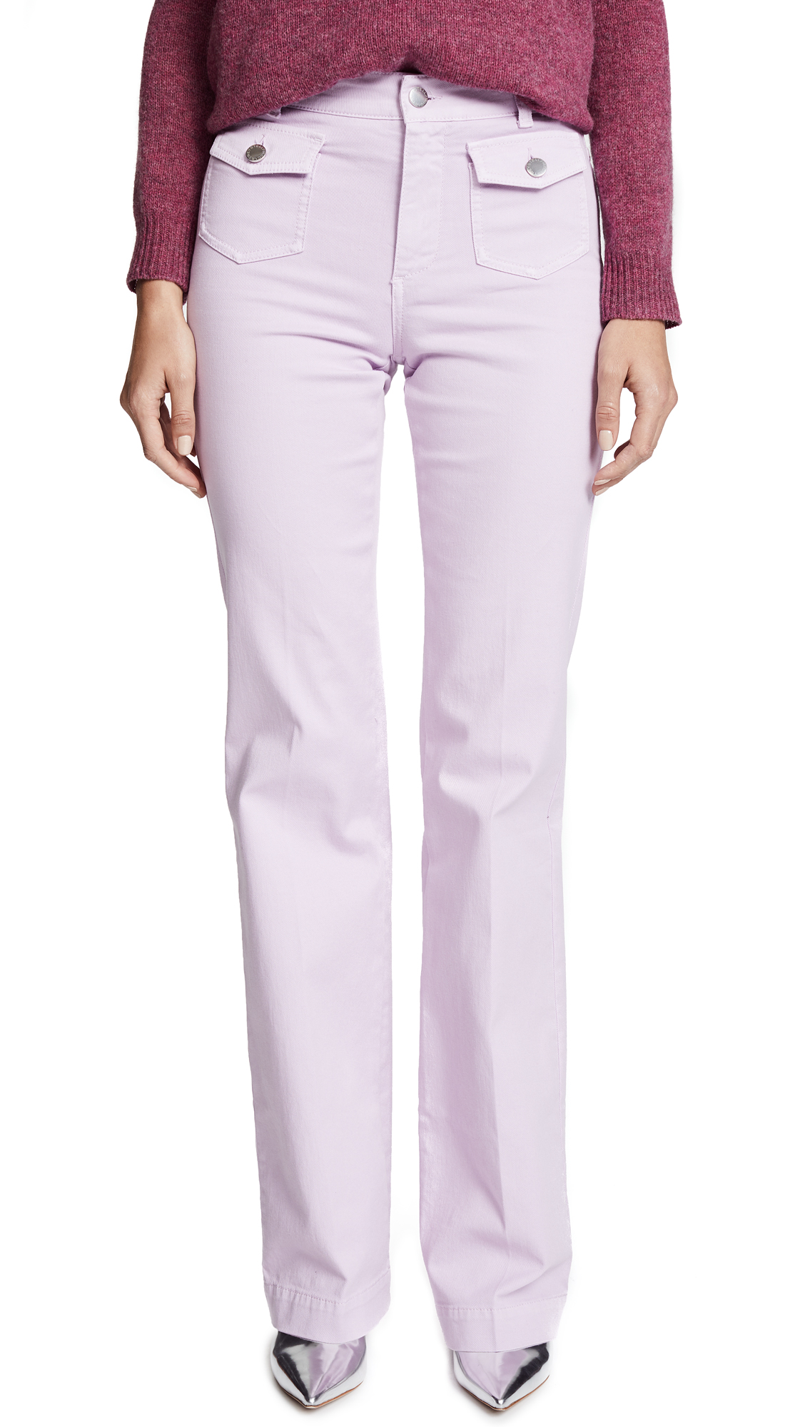 Stella McCartney The Flare Trousers - Lilac