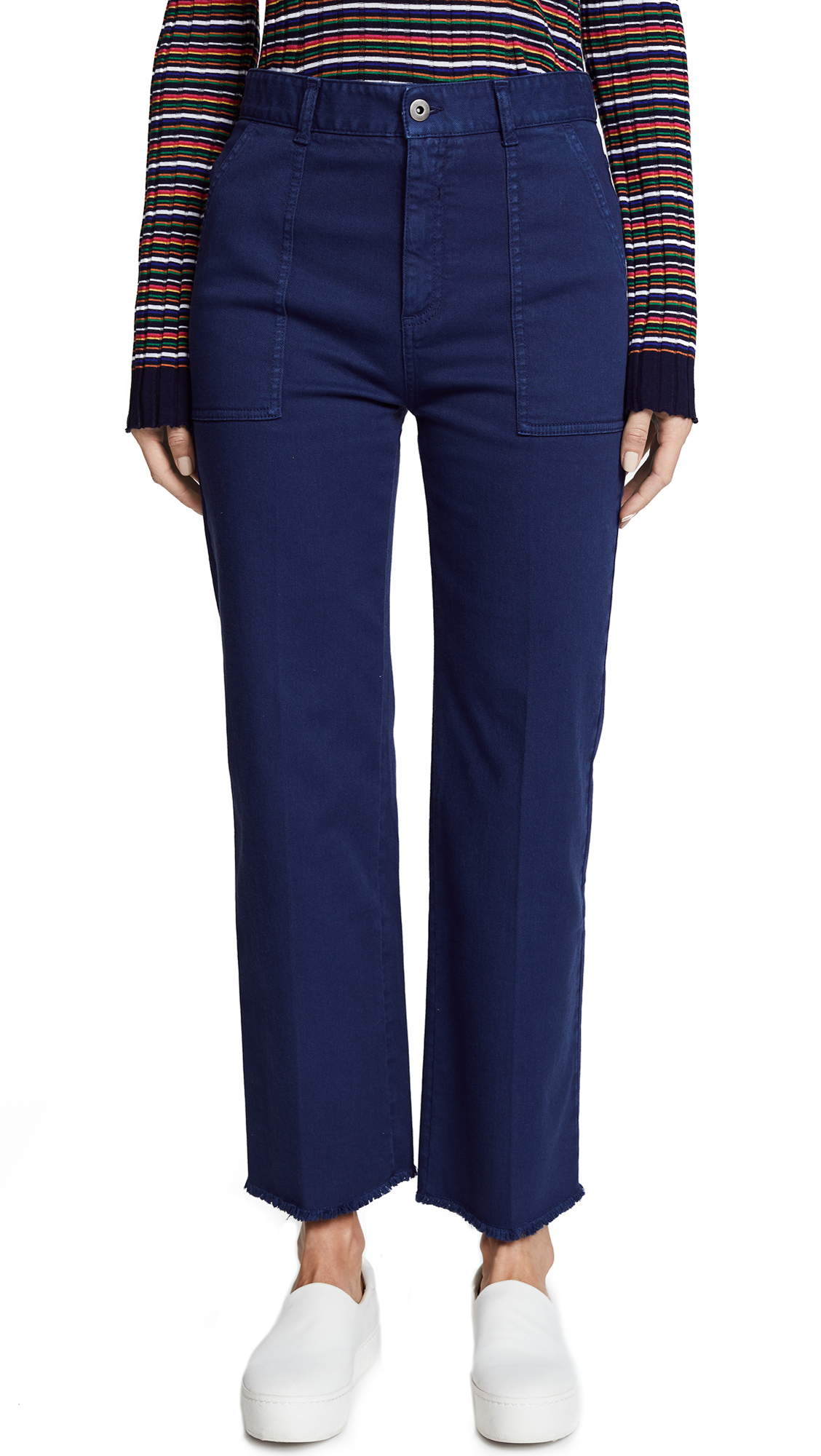 Stella McCartney Valeria Flare Jeans - Midnight