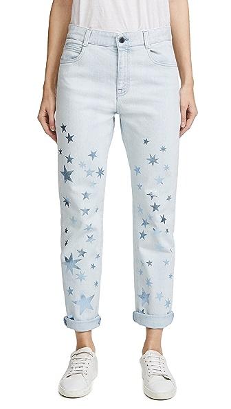 Stella McCartney Boyfriend Jeans In Sun Faded Blue
