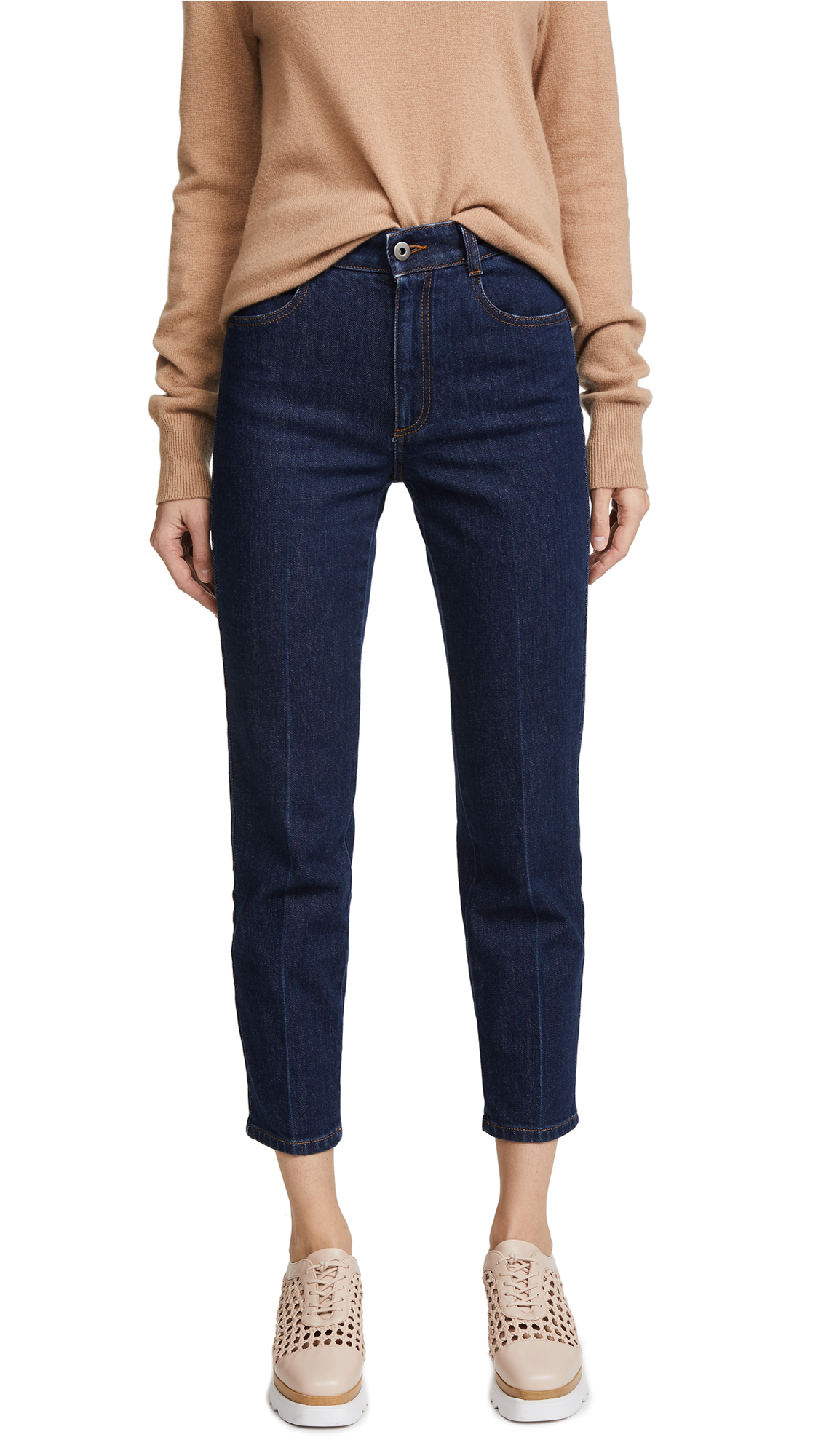 Stella McCartney The High Waist Skinny Jeans - Midnight