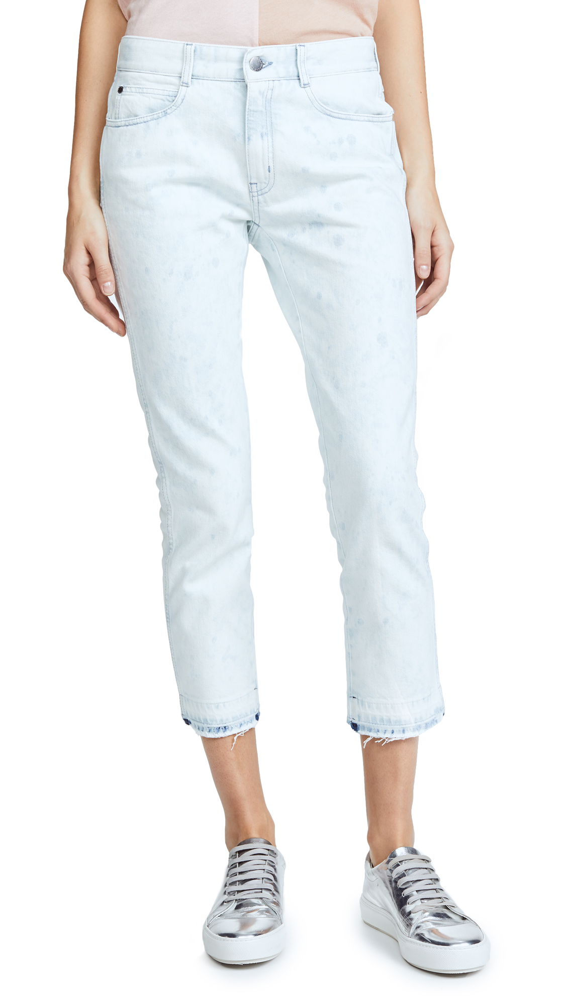Stella McCartney Skinny Boyfriend Jeans - Blu Jeans