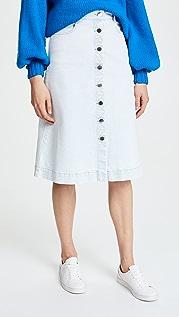 Stella McCartney Sylvia 牛仔布半身裙