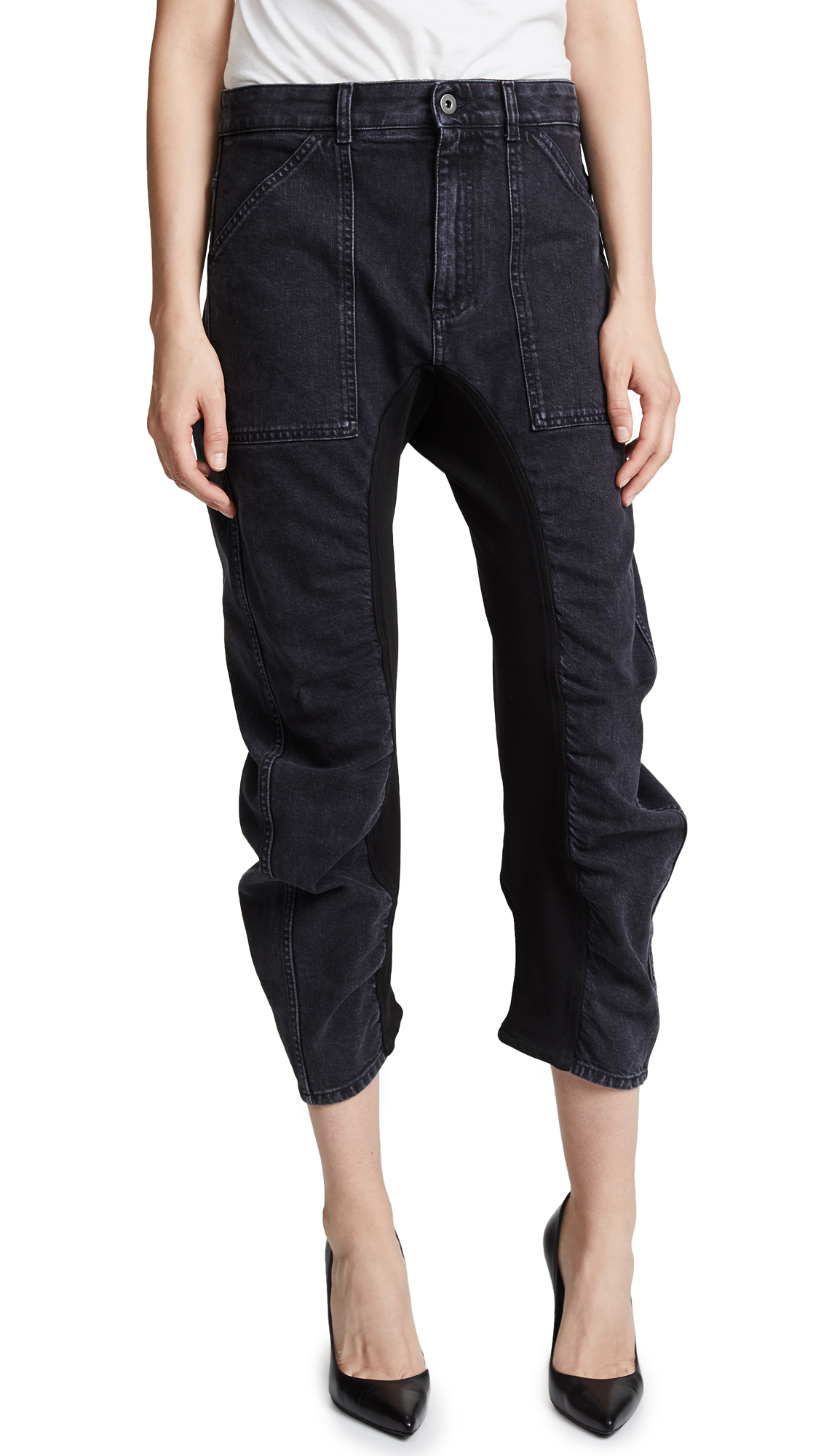 Stella McCartney Vintage Jeans In Black