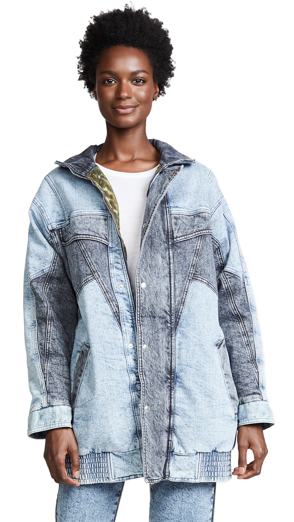 Stella McCartney Combo Jean Jacket