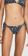 Stella McCartney Pebble Tie Side Bikini Bottoms