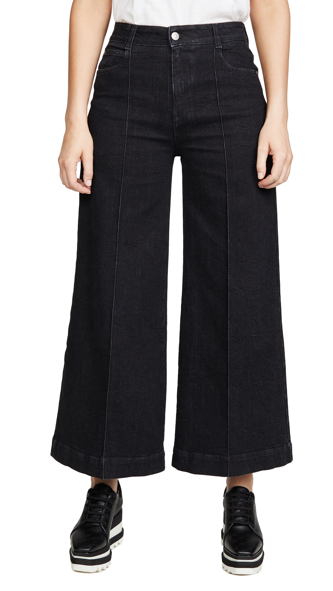 Buy Stella McCartney online - photo of Stella McCartney Denim Organic Ext. Black Comf